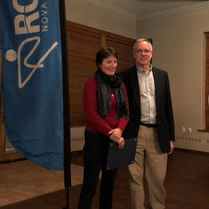 Row Nova Scotia 2018 Volunteer of the Year is Karen Kinley of LYC Rowing