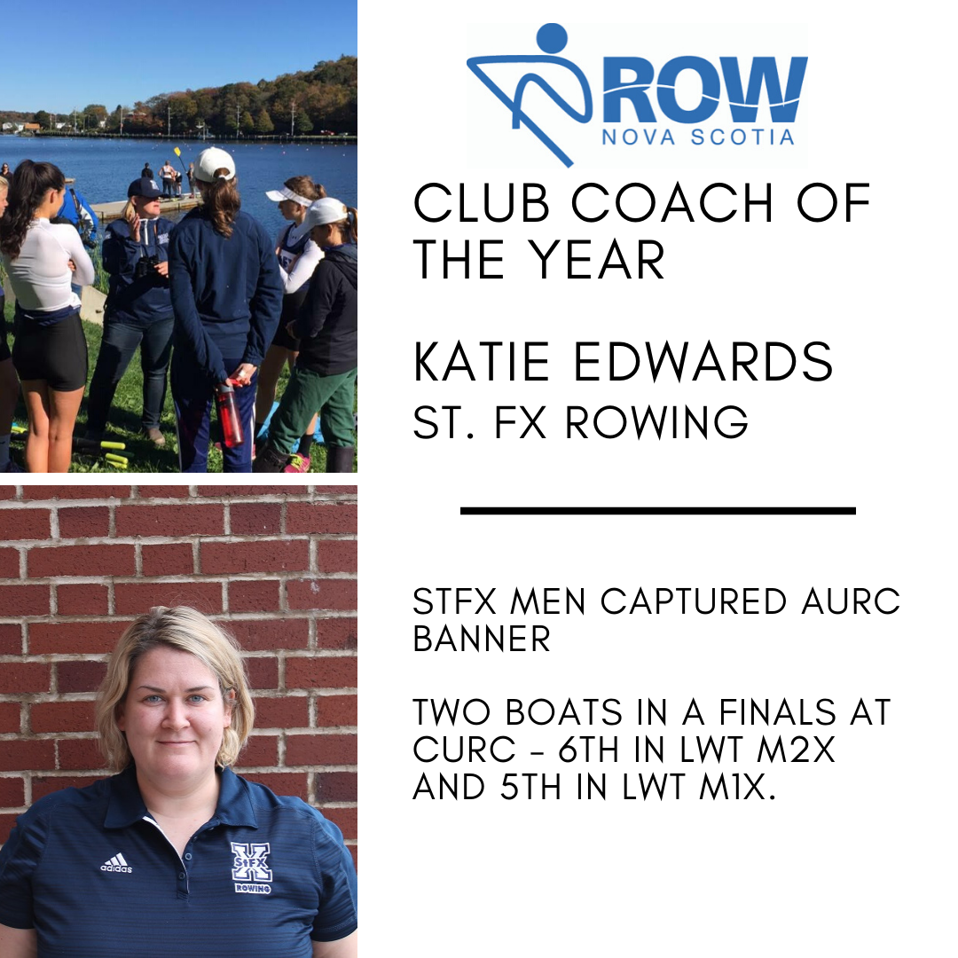 Club Coach of the Year - Katie Edwards