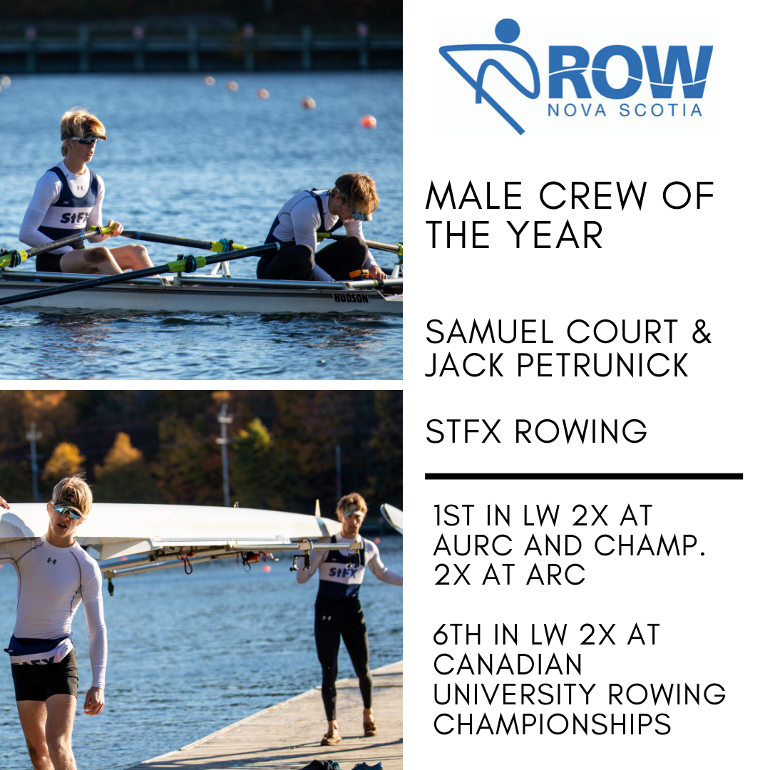 Male Crew of the Year - Sam and Jack