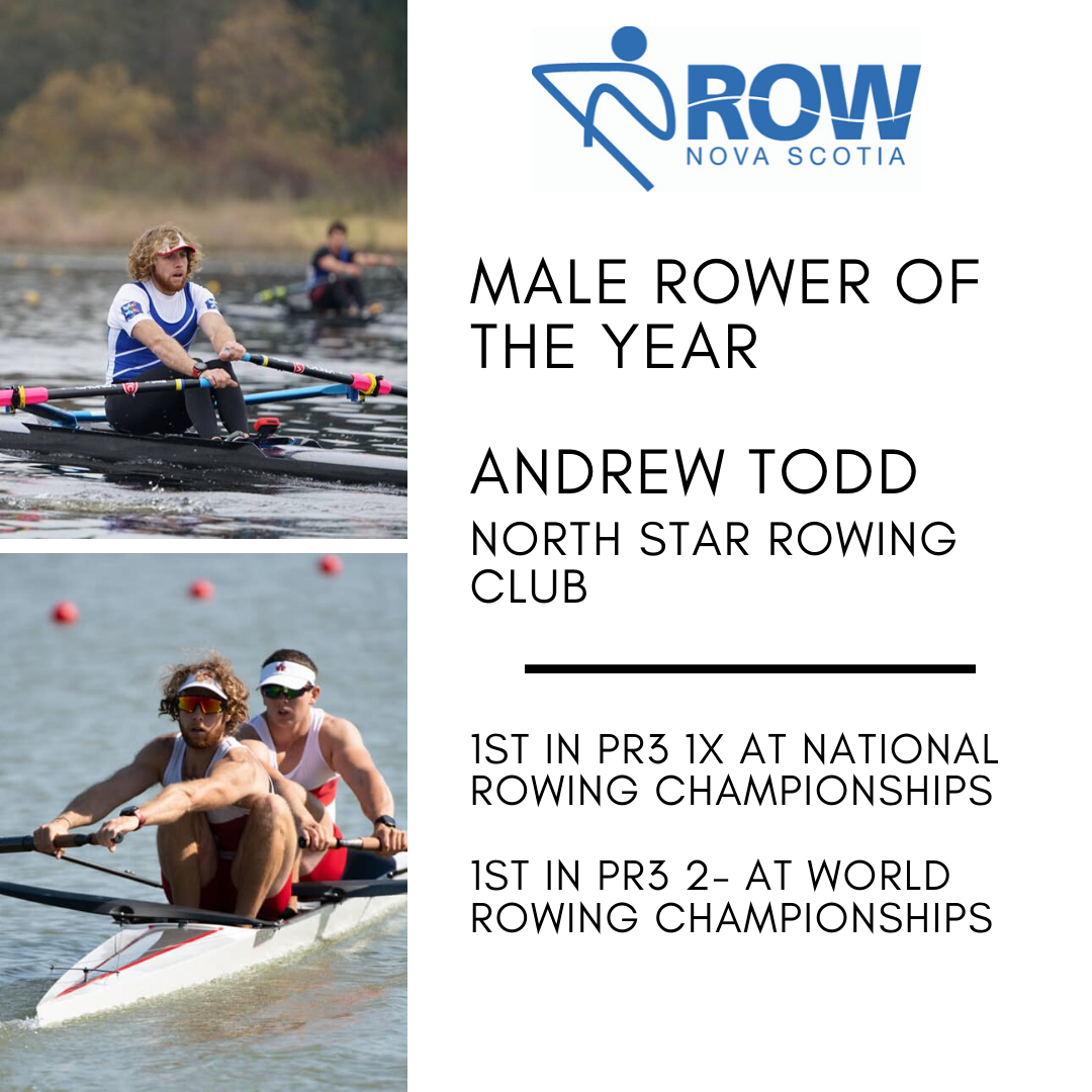 Male Rower of the Year - Andrew Todd