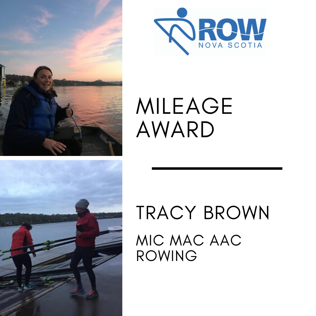 Mileage Award - Tracy Brown