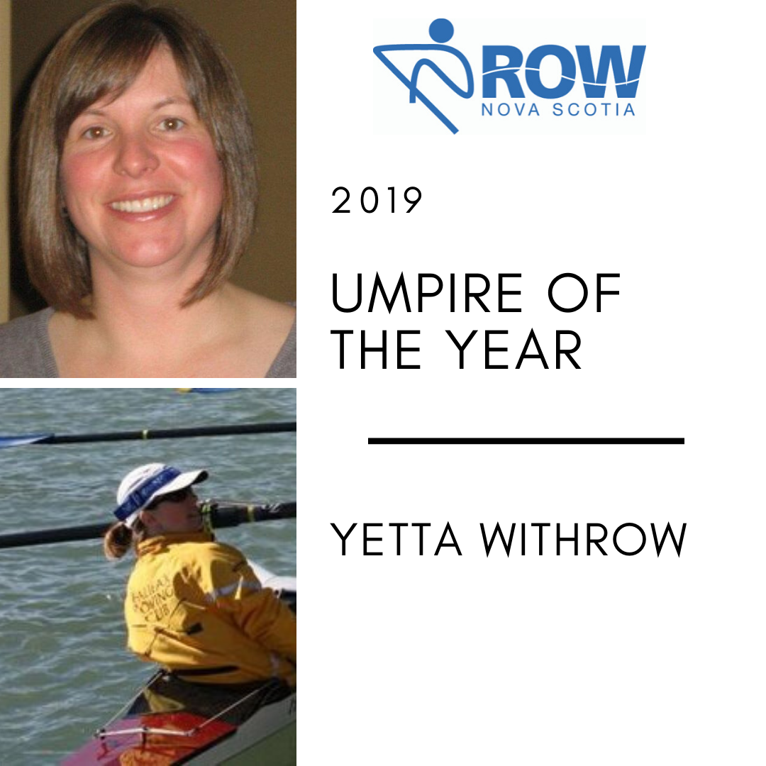 Umpire of the Year - Yetta Withrow