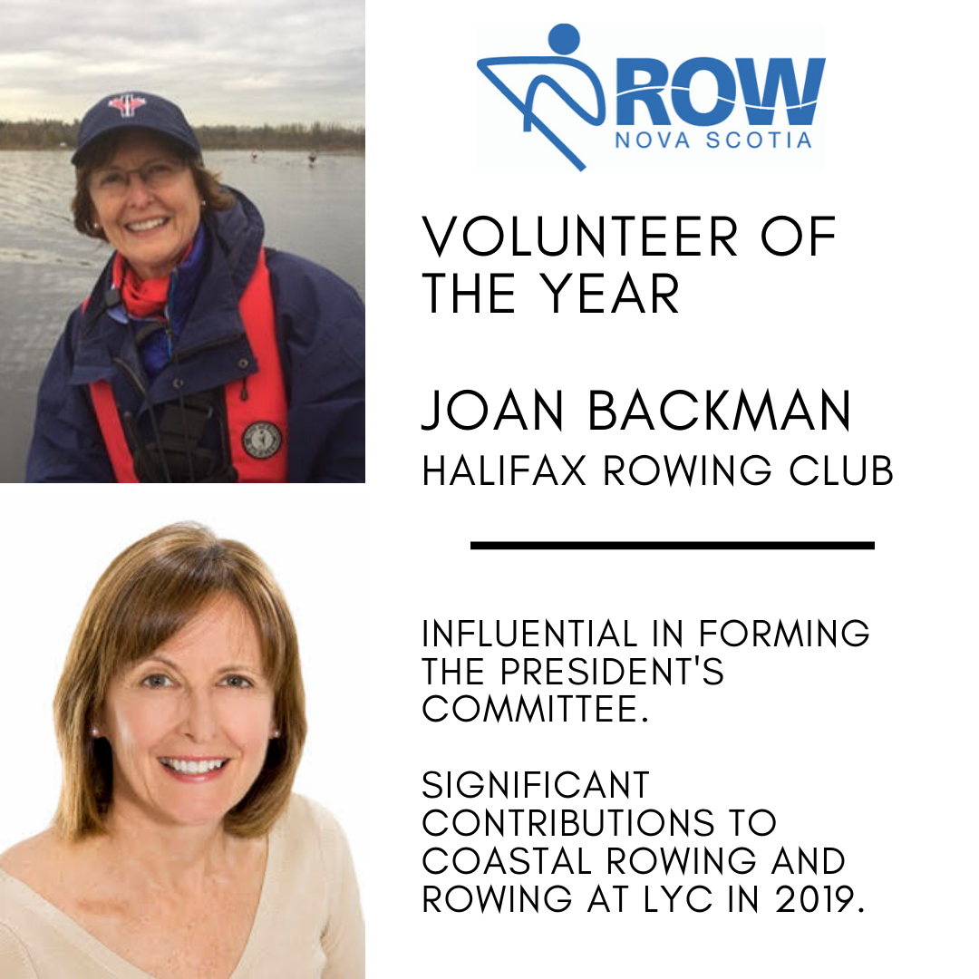Volunteer of the Year - Joan Backman