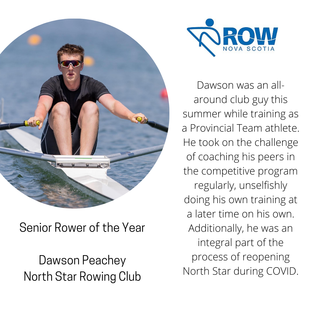 Senior Rower of the Year